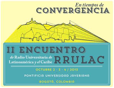 Imagen oficial II Encuentro RRULAC
