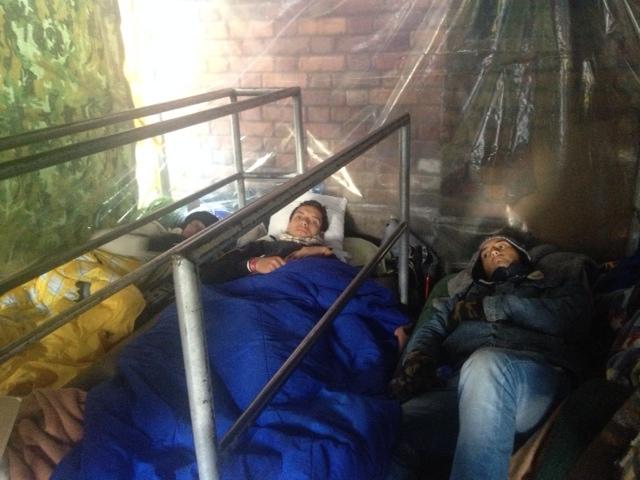 Toreros en huelga de hambre por derecho al trabajo en Bogotá