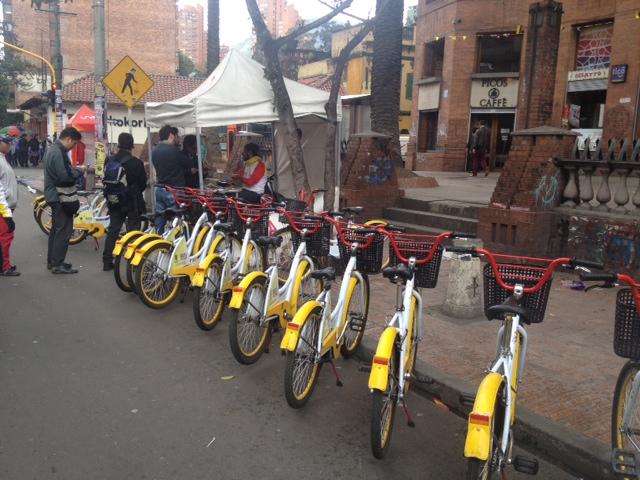 Bicicletas calle 22 con carrera 7