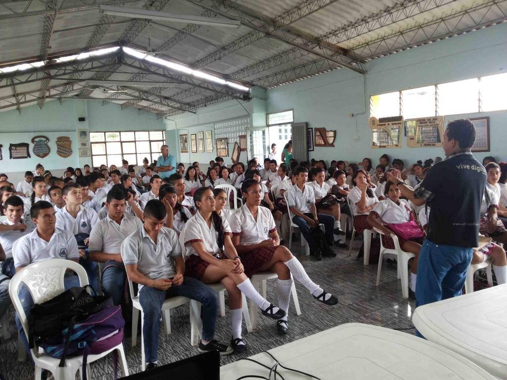 Conferencia de En Tic confío | Foto: alcaldía de Obando - Valle