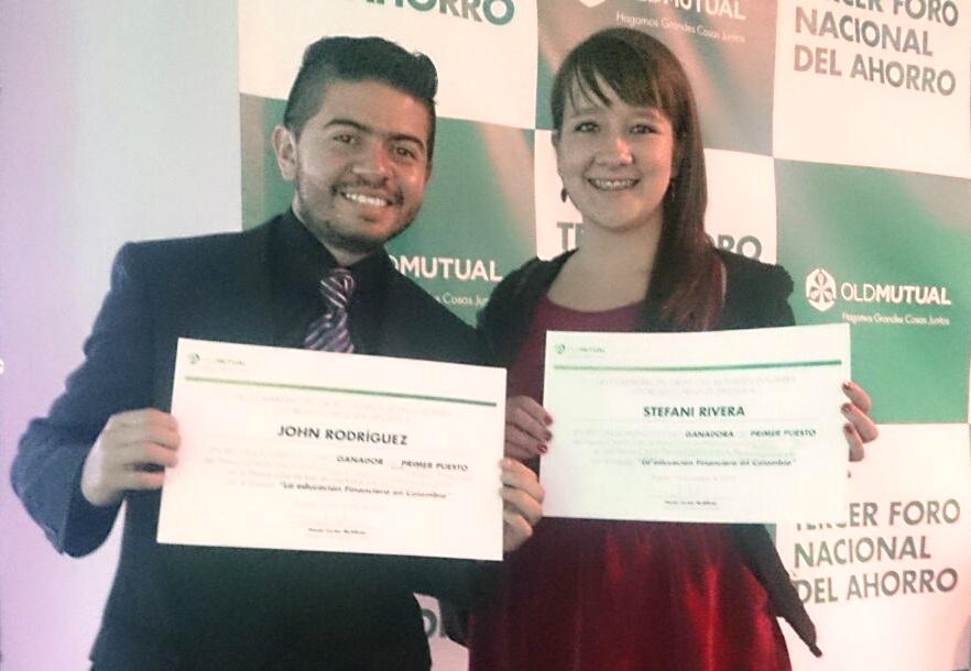 John Rodríguez y Stefani Rivera