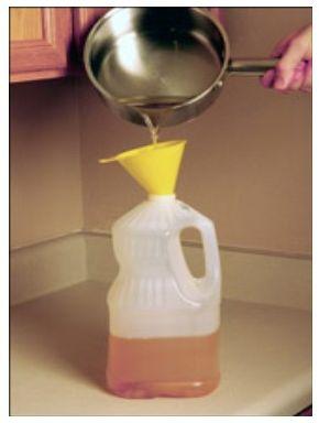 La convocatoria promueve el aprovechamiento de los desechos grasos por parte del as empresas productoras Foto: http://www.dforceblog.com/wp-content/uploads/2010/02/aceite-desecho2.jpg