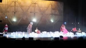 Abrazos, trampas y otras fábulas, Teatro Jorge Eliecer Gaitán
