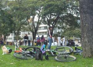 Parque Nacional, Semana de la Bicicleta en Bogotá