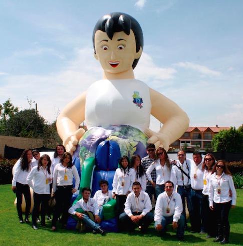 Equipo de la fundación a cargo del parque. En total son 10 docentes y 5 operarios | Foto: Julieth Rivas Ríos
