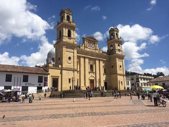 La basílica de Nuestra Señora del Rosario de Chiquinquirá es el escenario principal en donde se concentraran los actos de la Semana Santa.