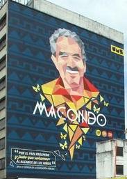 Con el mural denominado Macondo, Bogotá inicia sus homenajes a Gabriel García Márquez.
