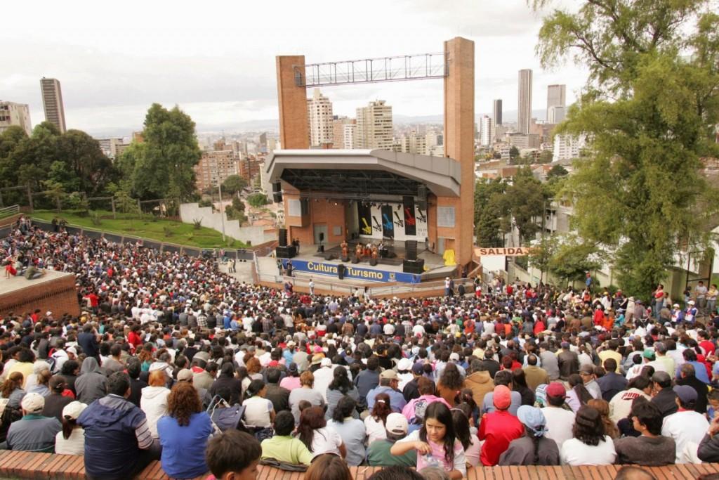 Vive la Música en la media torta de Bogotá en su primera versión en el 2014