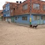 Barrio Porvenir Rio, lugar del tiroteo.