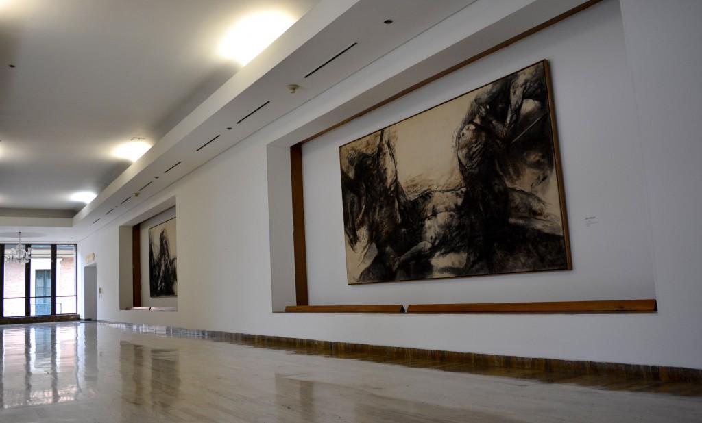 """Exposición, """"20 años sin Caballero"""" Banco de la República"""