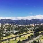 Calle 26, Bogotá. El sol capitalino tiene consecuencias para empezar a desarrollar enfermedades que a futuro podrían ser un problema para su salud.