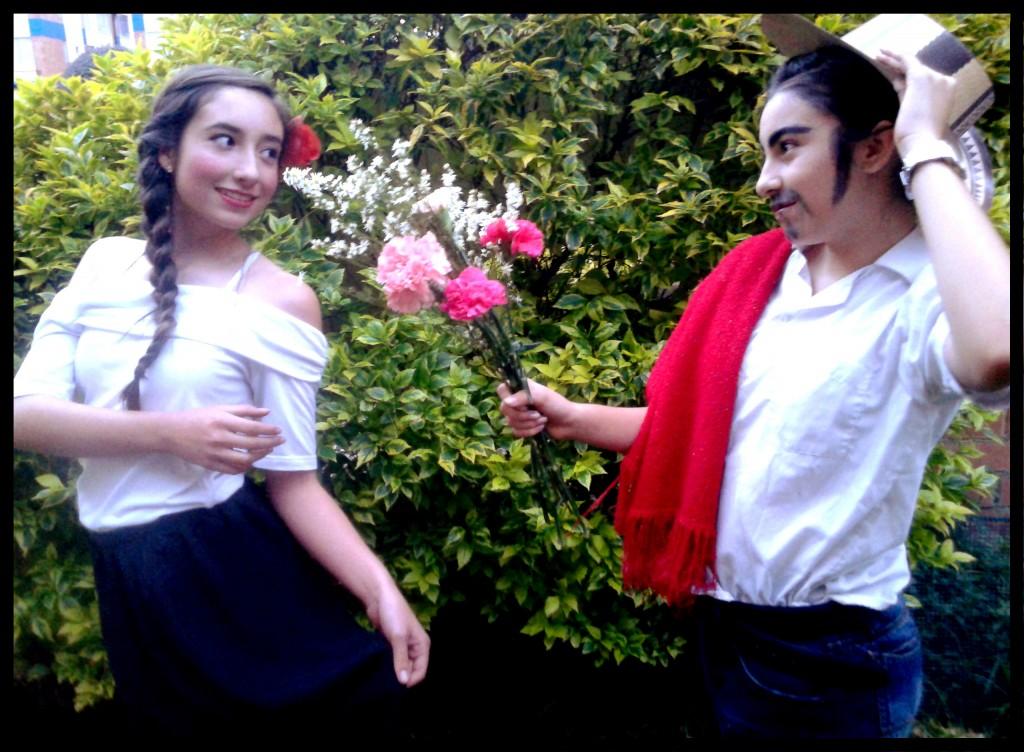 El Bambuco de la zona andina de Colombia, representado por Valeria Córdoba y Juliana Aponte