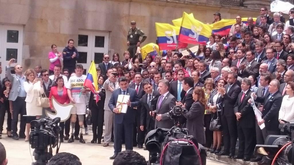El domingo 2 de octubre se llevará a cabo el plebiscito en el que los colombianos votarán si están o no de acuerdo con lo pactado en La Habana