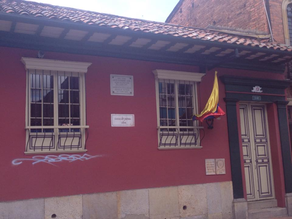Casa de La Poesía Silva, La Candelaria Bogotá.