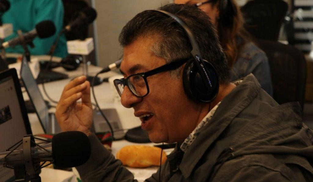 Indalecio Castellanos radio