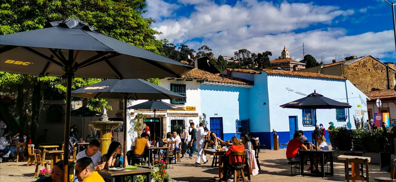 Bogotá cielo abierto Chorro de Quevedo