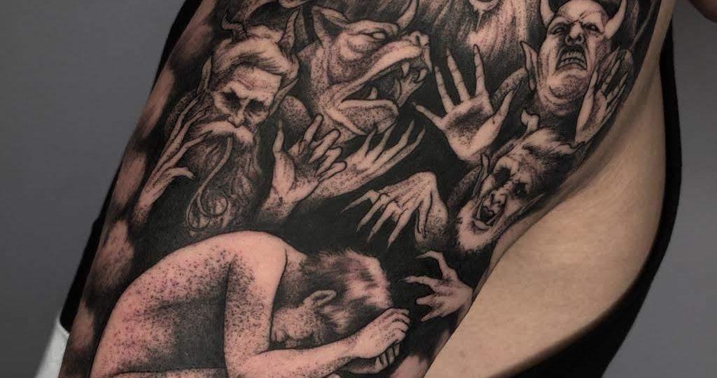 El tatuaje, arte corporal